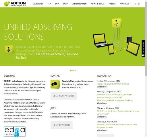 Adition Technologies AG