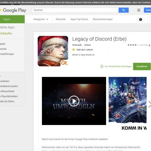 Legacy of Discord-FuriousWings (API) (Android 4.0.3+) US - Non incent