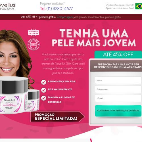 Novellus Skin [SKIN] - CPA - Straight Sale - BR