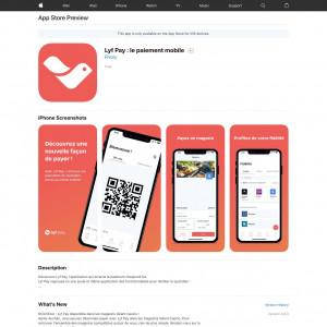 FR - Lyf Pay : le paiement mobile - iOS