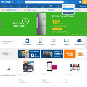 Walmart 2018 - loja de multiprodutos - Compra confirmada
