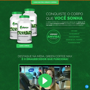 Green Coffee Max [DIET] - CPA - Straight Sale - BR
