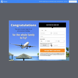 WIN a FREE trip to Fiji!