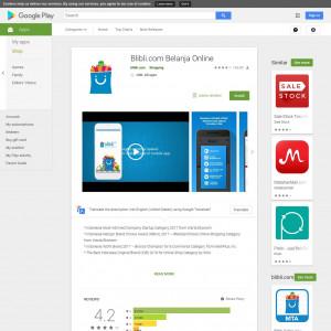 Blibli Android App ID