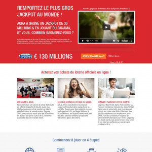 Lotter - CPL - CA (French landing page)