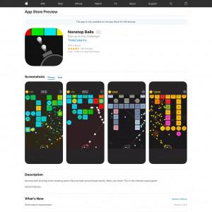 CA - Nonstop Balls - iOS