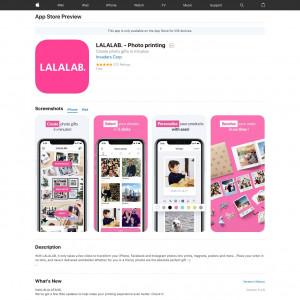 DE - LALALAB. - Photo printing - iOS