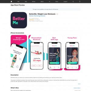 BetterMe iOS CA RR>30% S2S