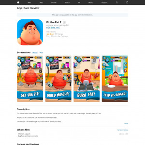 Fit the Fat 2 (iPhone 9.0+) US - Non incent