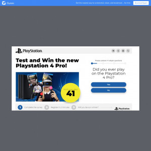 Test and KEEP a PlayStation 4!