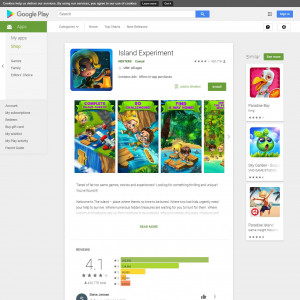 Island Experiment (API) (Android 4.1+) US - Non incent