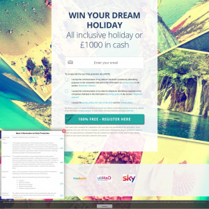 Win Your Dream Holiday - UK