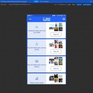 Portugal (PT) - Android Apk - Social Stalker Facebook - APPs