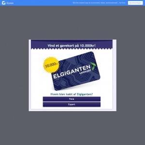 Toleadoo - 10k KR Elgiganten Voucher (DK) (Incentive)