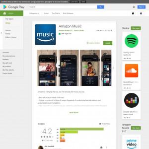 US - Amazon Music - Android
