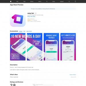 CN - easy ten - iOS