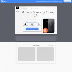 Amazando Samsung S9 UK | SOI Incent Permitted