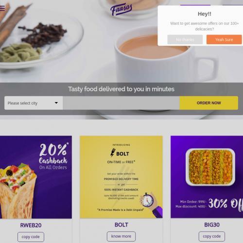 Faasos.com CPS - India