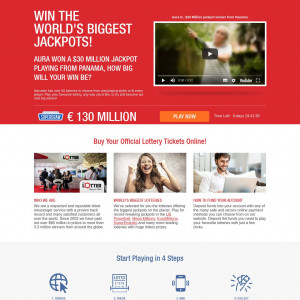 Lotter - CPL - CA  (English landing page)