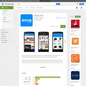 Souq (API) (Android 4.0.3+) AE - Non incent