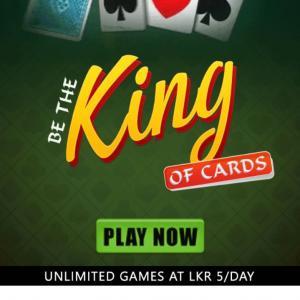LK King of Cards Dialog