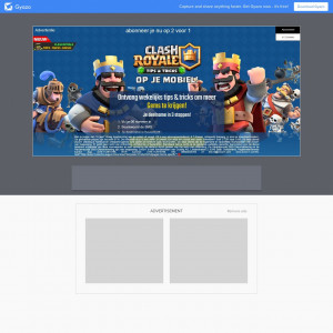 **EXCLUSIVE** 2voor1 Clash Royale WEB/WAP NL I MO Flow Mobile Subscription Incent Permitted