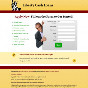Liberty Cash Loans- EXCLUSIVE