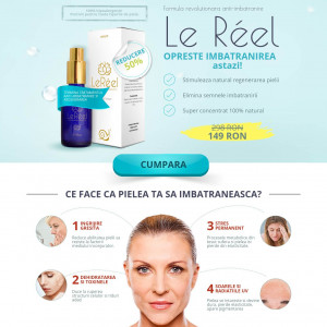 Le Reel Anti-Aging Serum - Desktop/Mobile [RO] COD