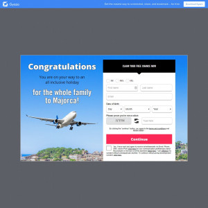 WIN a trip to Majorca!