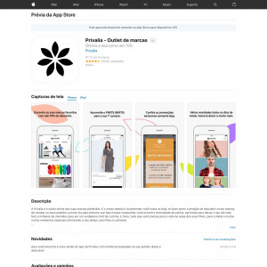 Privalia (API) (iPhone 9.0+, iPad 9.0+) MX - Non incent
