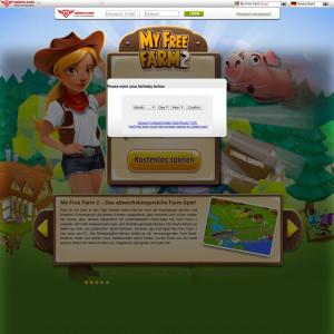 My Free Farm 2 - CPA -[AT,CH,DE]