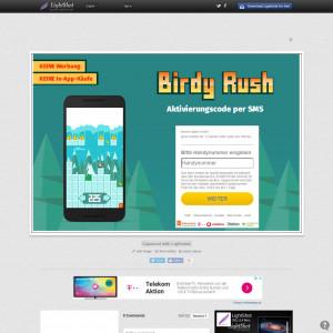 Birdy Rush - DE - Activation