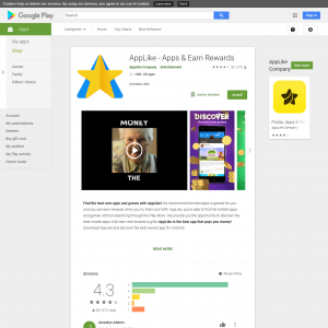 AppLike - Apps & Earn Rewards - Android[CA]