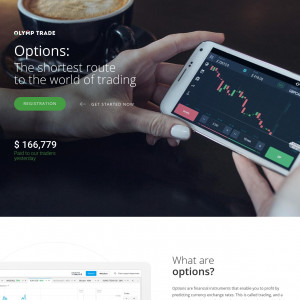 Olymp Trade FOREX CPA-FTD