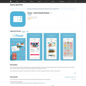 Fizzer - Carte Postale Photos - iOS - FR - CPI (S)