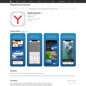 Yandex Browser [iOS]