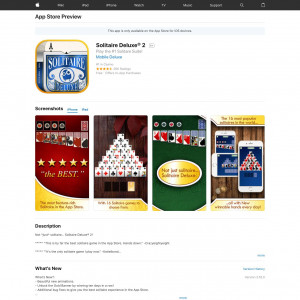 /// Solitaire Deluxe® Social - Incent - iOS - US