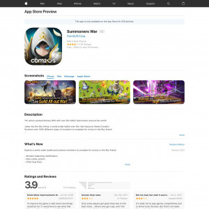 Summoners War  - iOS - DE (S)