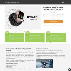 Product Testing Apple Watch Series 3 [AU]