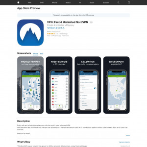 NordVPN - iOS - CPA[AU,CA,DE,GB,US]