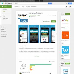 /// *Amazon Shopping - Non incent - Android - NZ