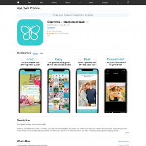 FreePrints – Photos Delivered iOS CPE[US]