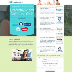 Everyday Moms Sampling Club With Offer Select