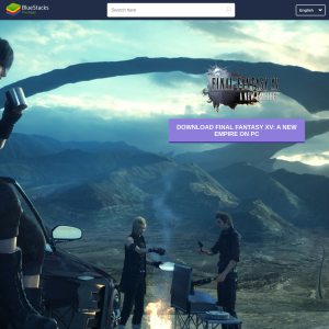Final Fantasy XV - Bluestacks Emulator