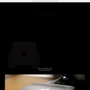 Mac Mini - CC SUBMIT - IN - Sweepstake - Responsive