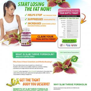 Slim Thrive Forskolin [DIET] - CPA - Trial - US