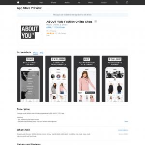ABOUT YOU Fashion Online Shop iOS[DE]