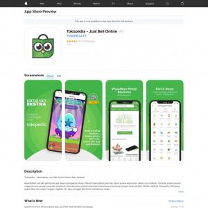 /// *Tokopedia - Non incent - iOS - ID