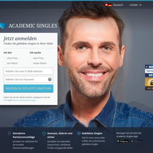 Academic Singles mobile CH Android 30+