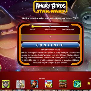 Angry Birds - Cell C (ZA)